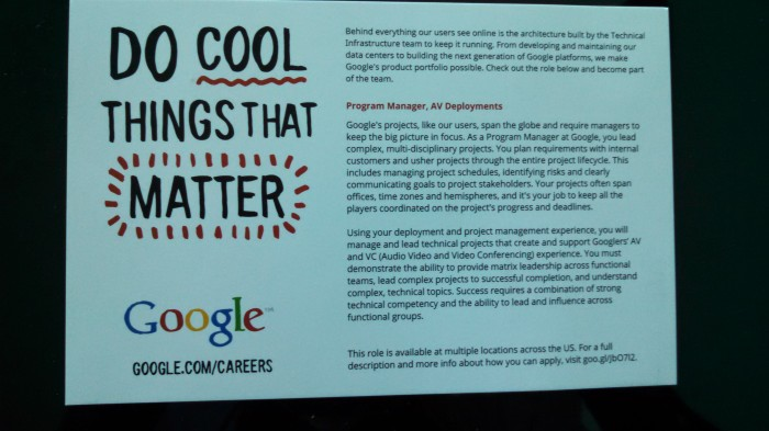 Google at Infocomm