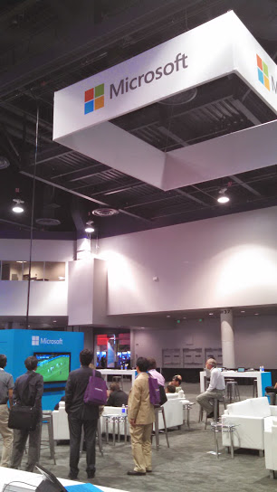 Microsoft at InfoComm